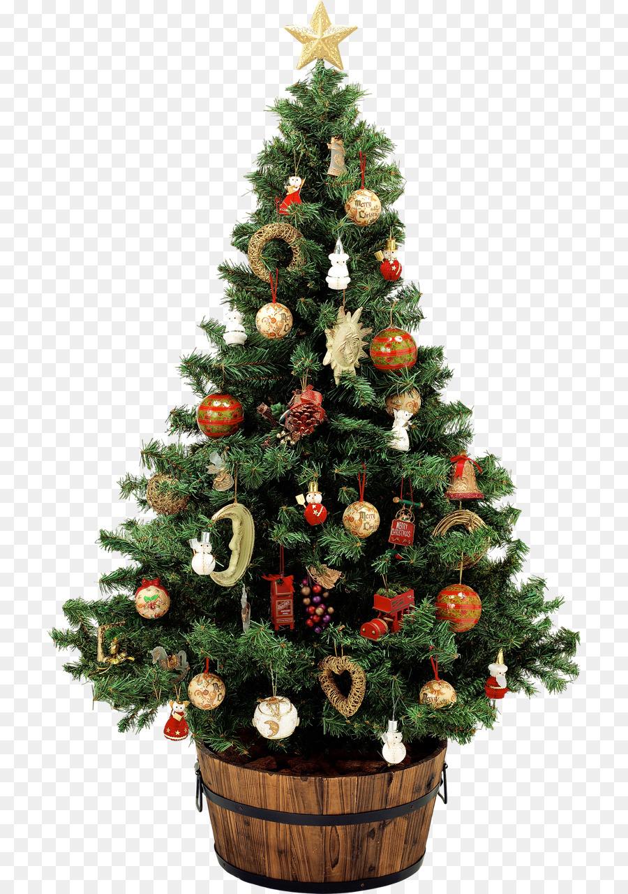 украшение кадушки для новогодней елки фото