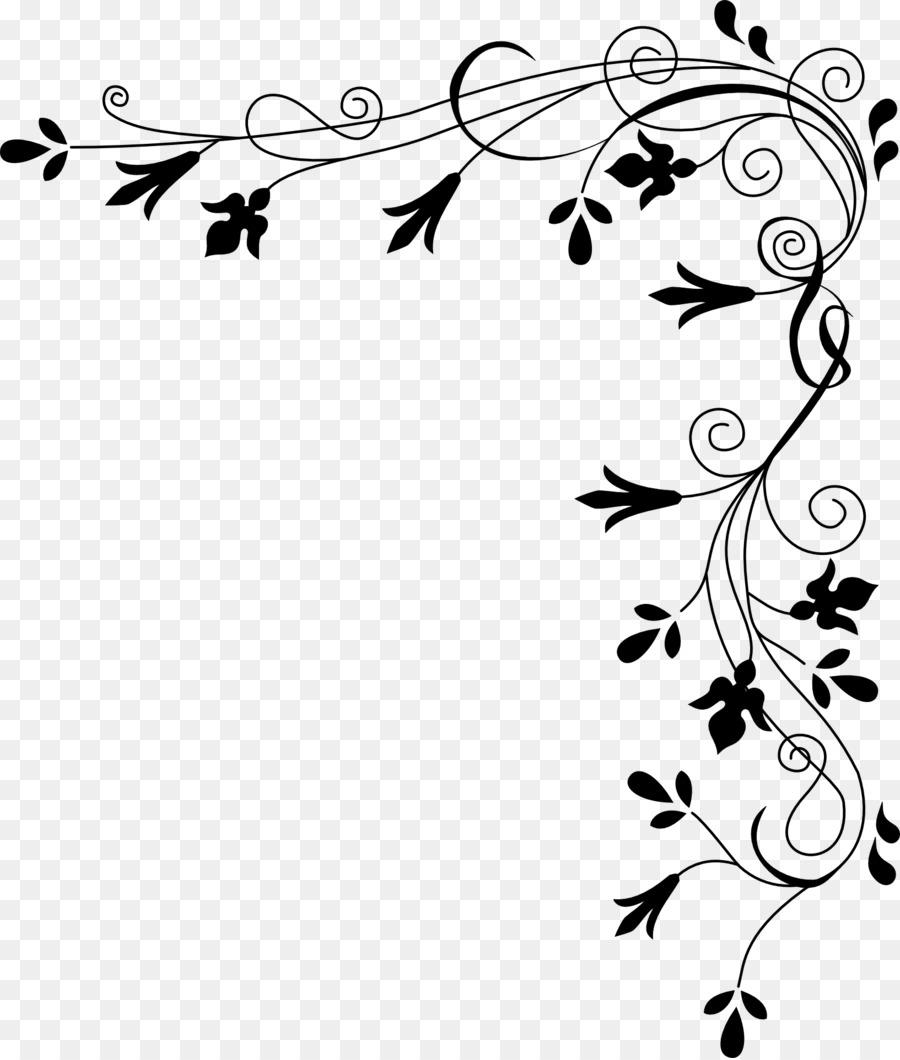 Шаблоны уголков на открытку, картинка цветами