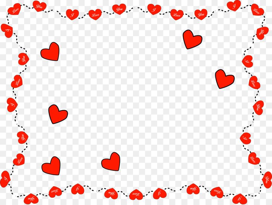 Картинки рамочки из сердец