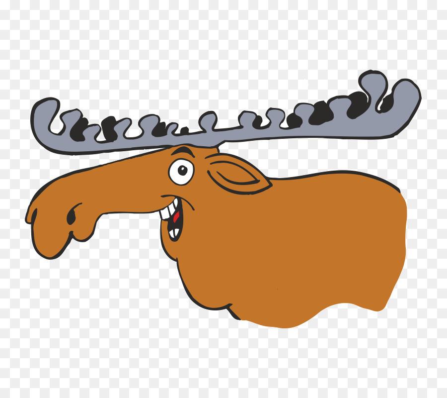 рисунок смешного лося фидерную
