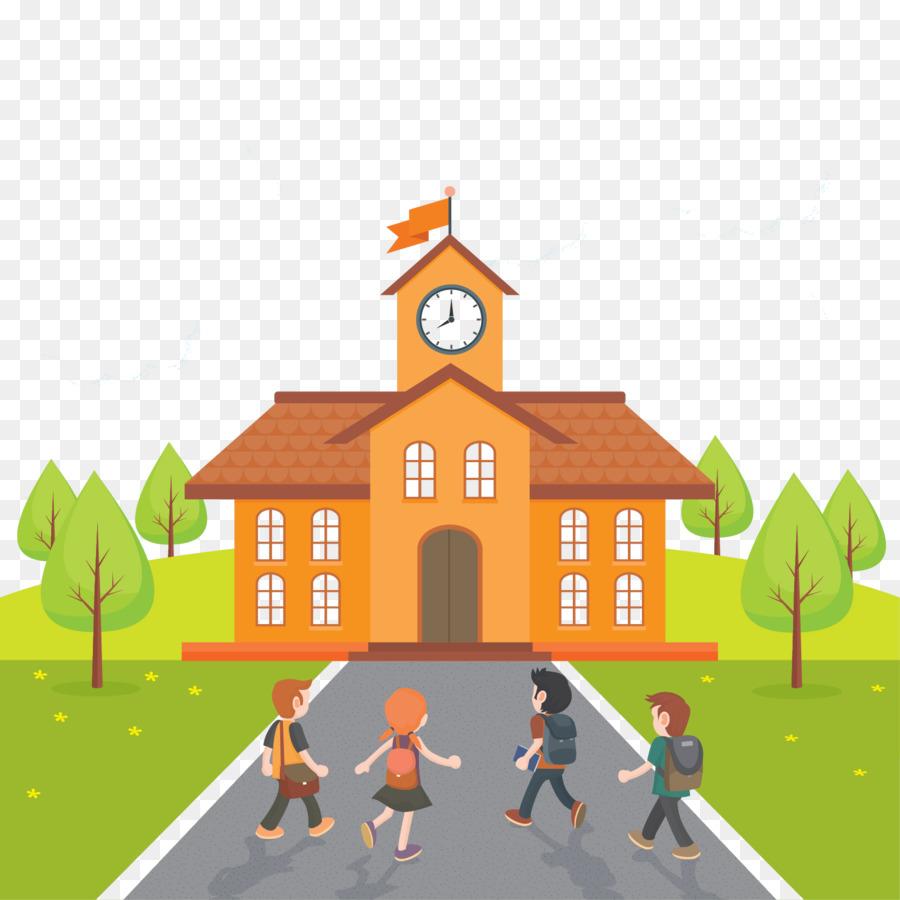 Детская картинка школа