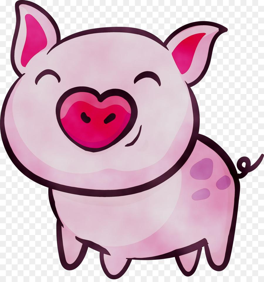 Картинки для срисовки свиньи на новый год