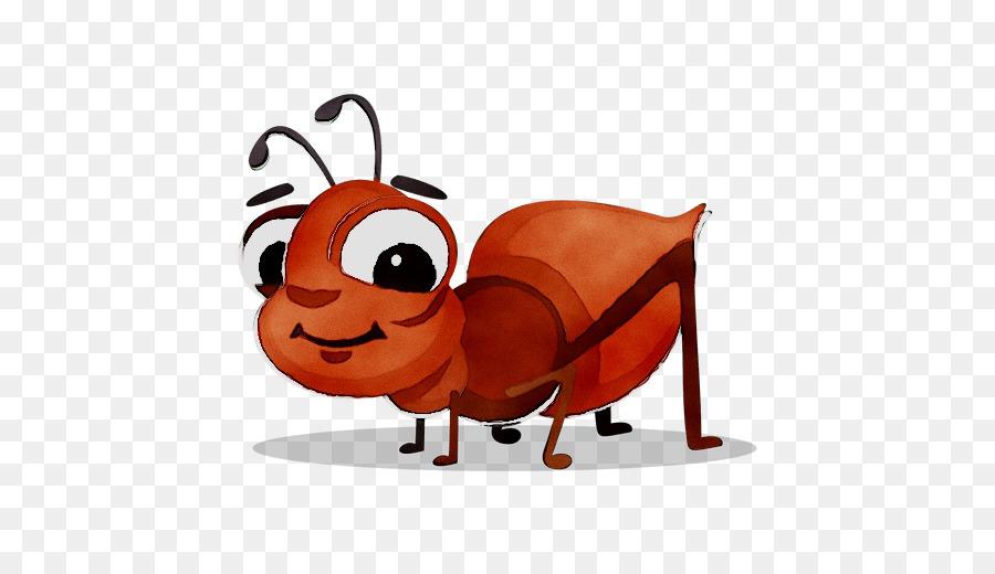 Открытки, муравей рисунок смешной