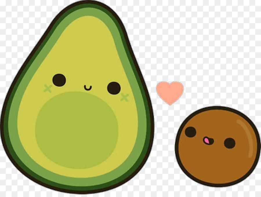 кавайная картинка авокадо тебя