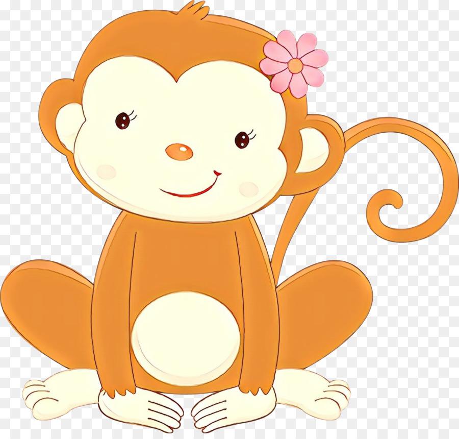 Красные, обезьянки рисунок для детей