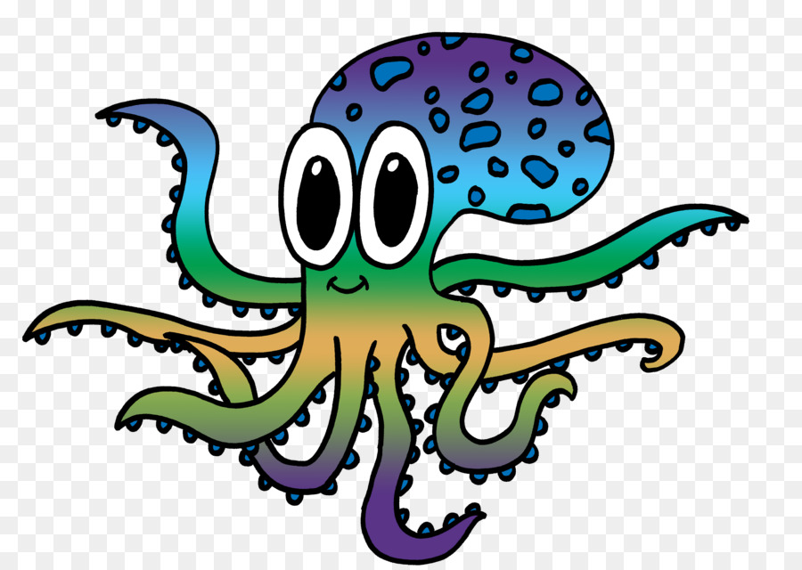 Картинки мультик осьминога