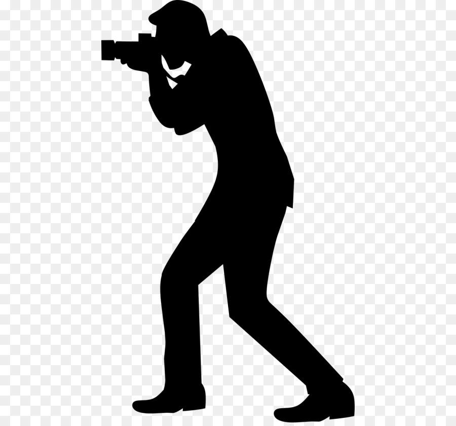 Векторная картинка фотограф