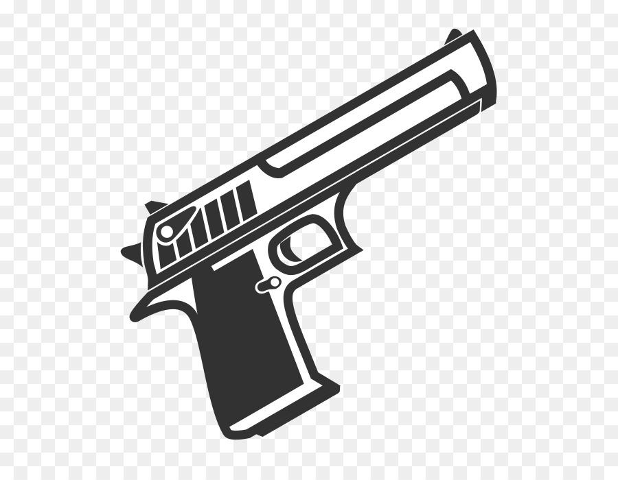 Картинки черно белые пистолеты