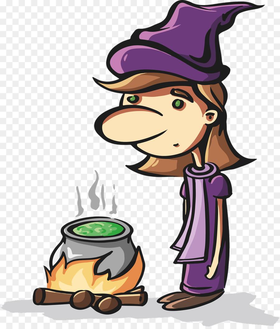 ведьма,