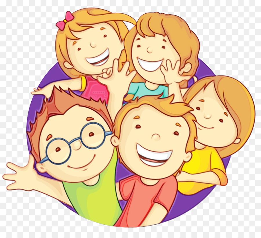 Картинки дети улыбаются нарисованные