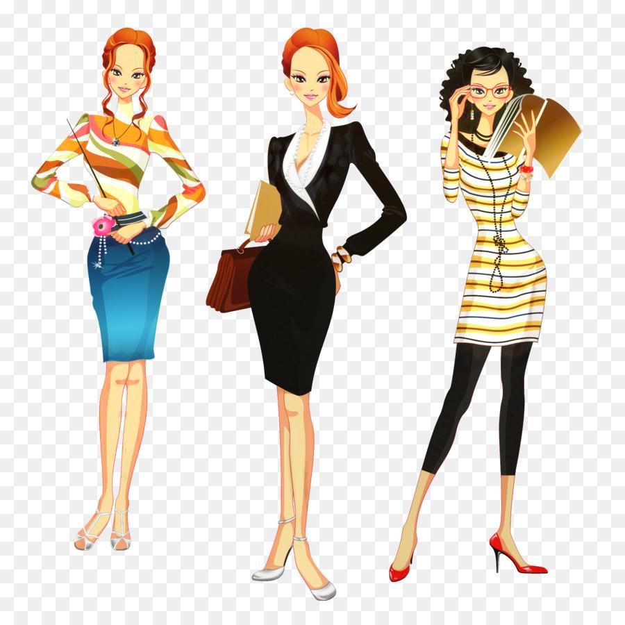 Женская одежда векторные картинки