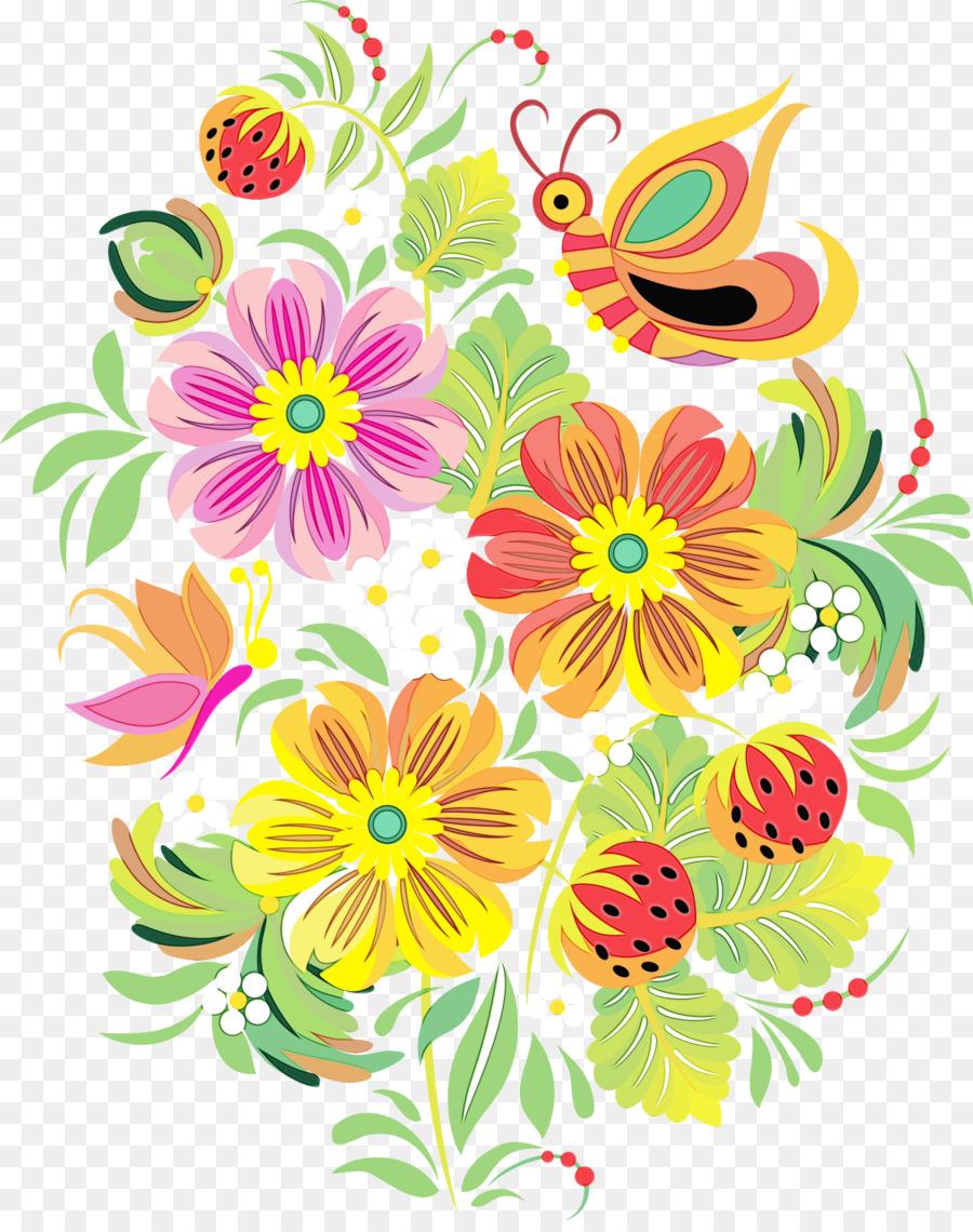 Цветочные орнаменты картинки, день