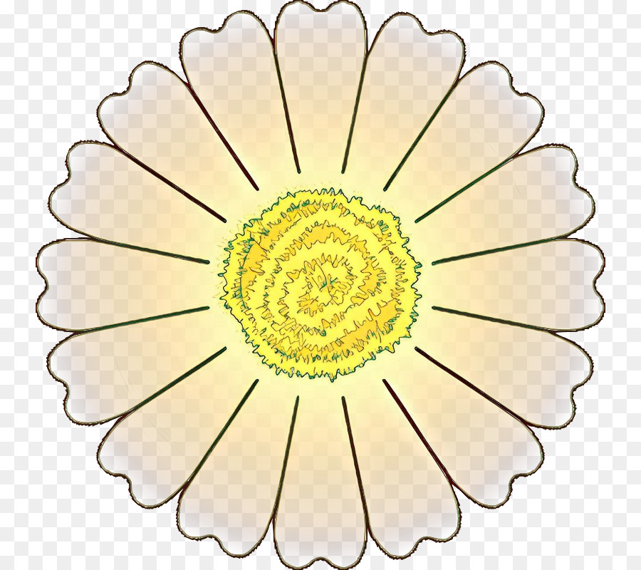 Открытка цветок с лепестками