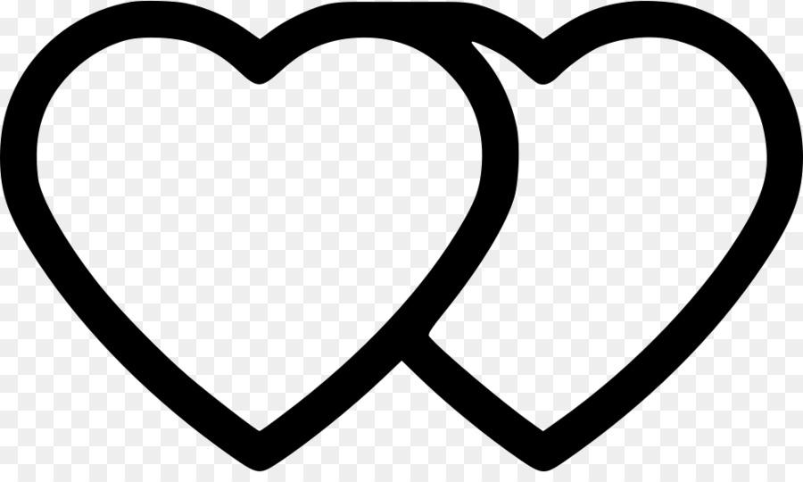 картинка два сердца черно белые питомник находится