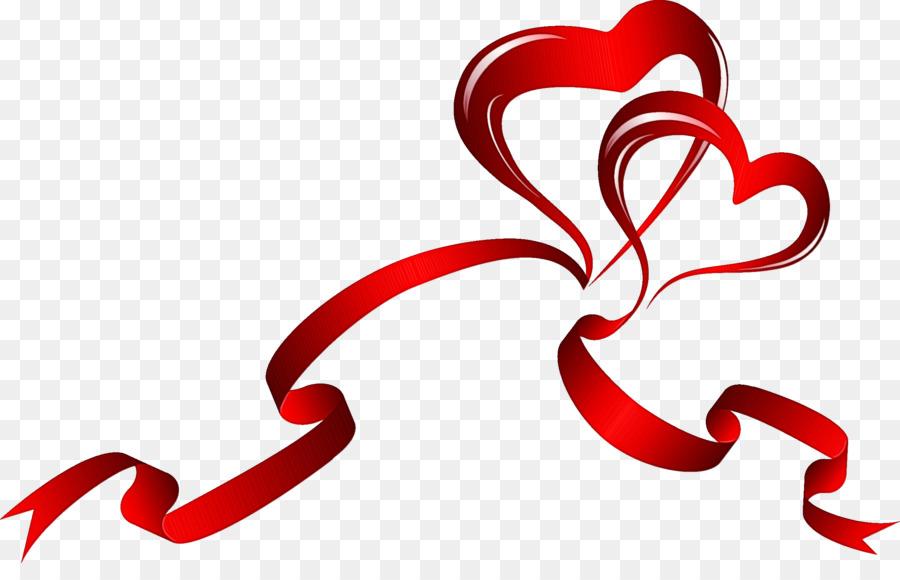 Картинки сердце с ленточками
