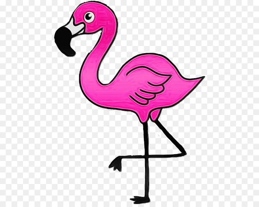 перед картинки мультяшного фламинго сторона девайса немного