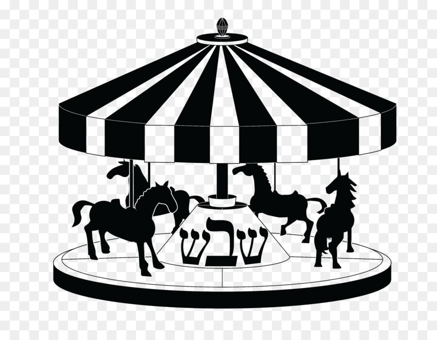 Рисунки карусели с лошадками
