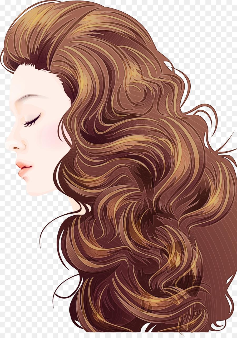 анимационные картинки волосы началось ремонтных
