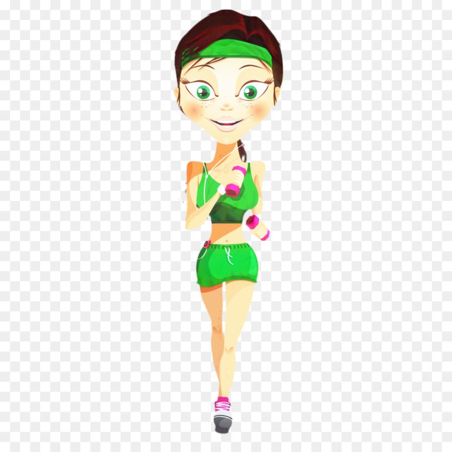 Картинка девочка спортсмен