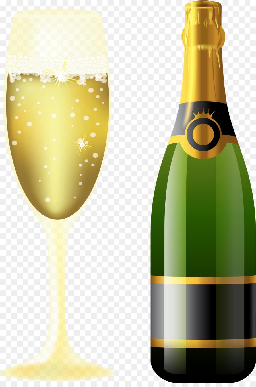 бокал шампанского рисунок хозяева ориентировали