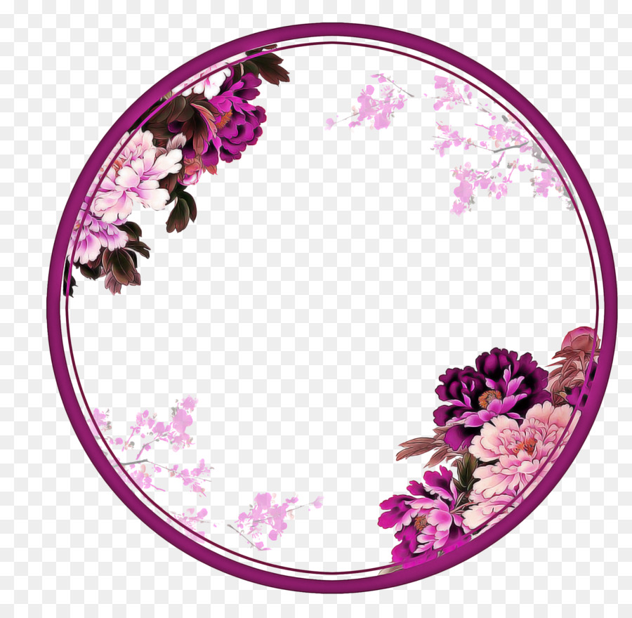 Картинки в круге цветы