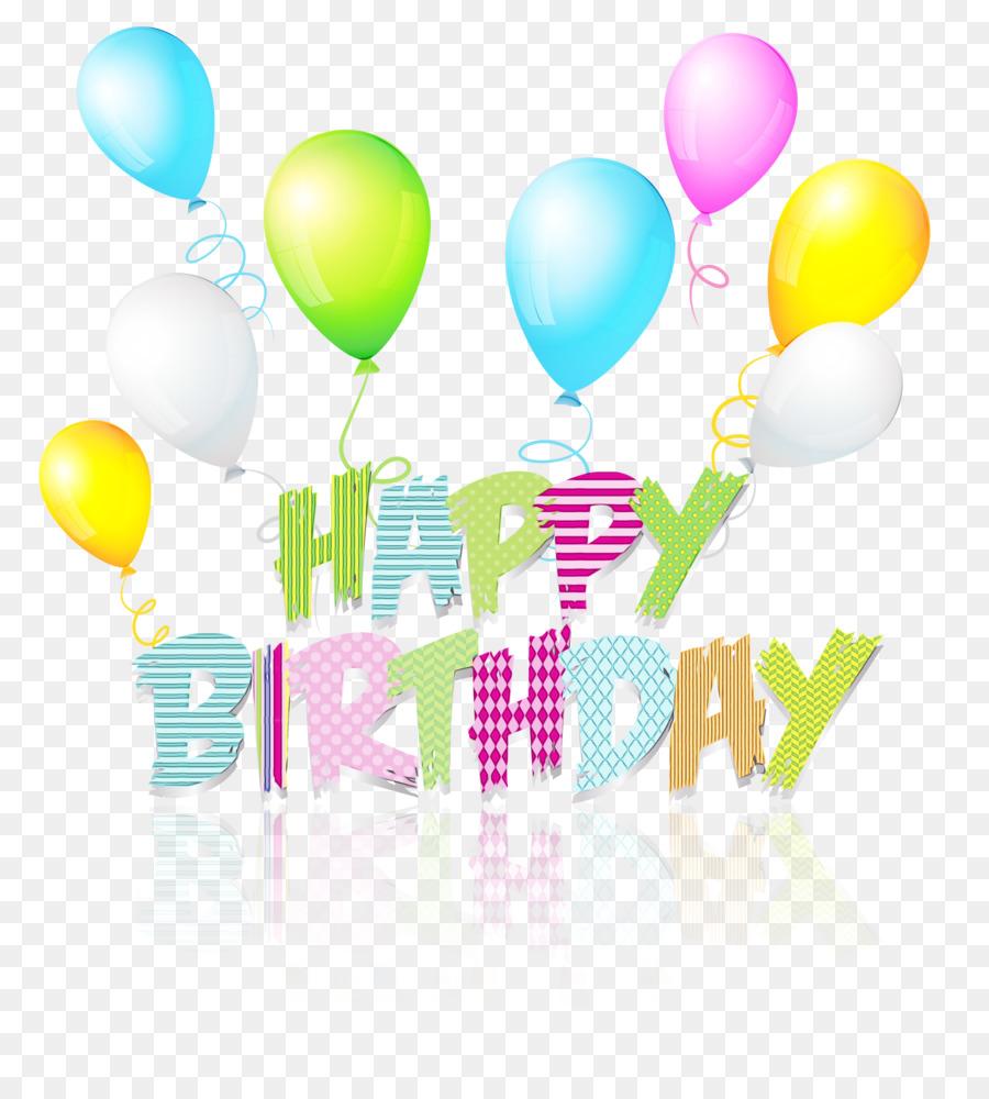 Картинки ко дню рождения с прозрачным фоном