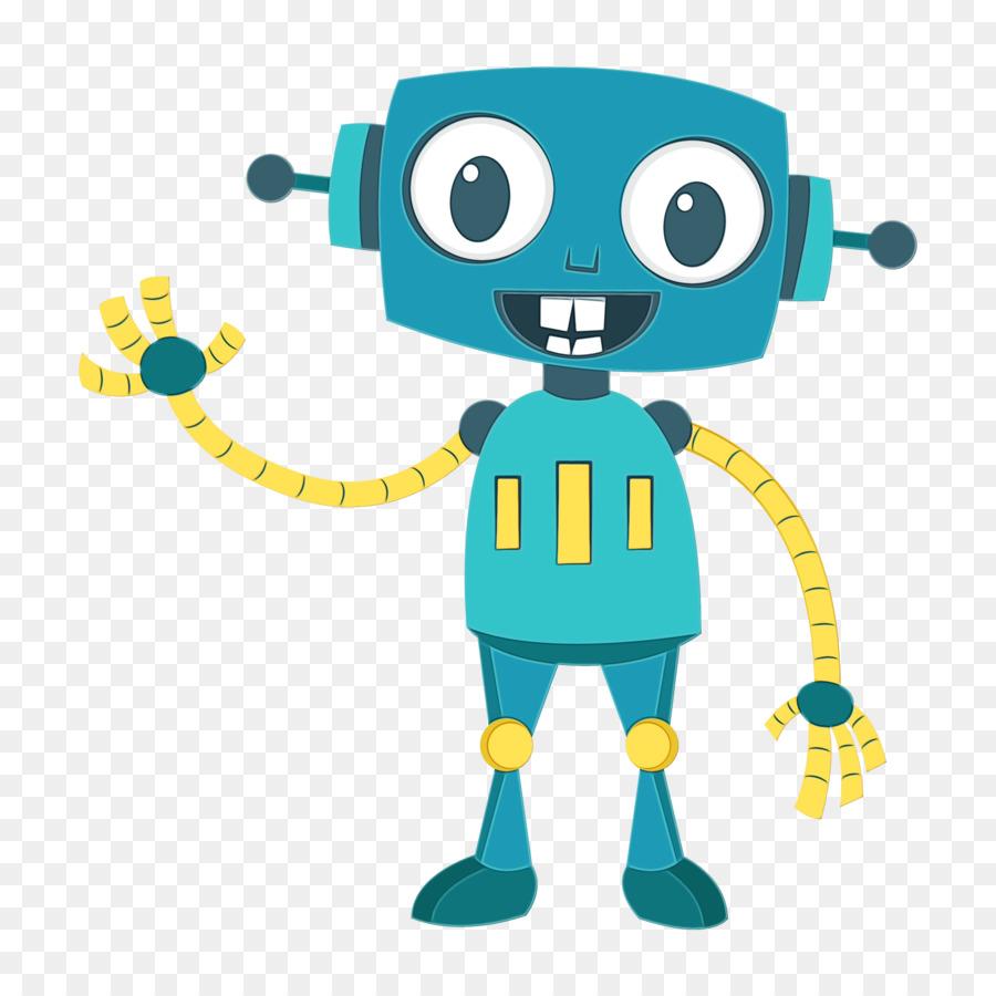 гласит, роботы рисунок цветной первый рабочи день