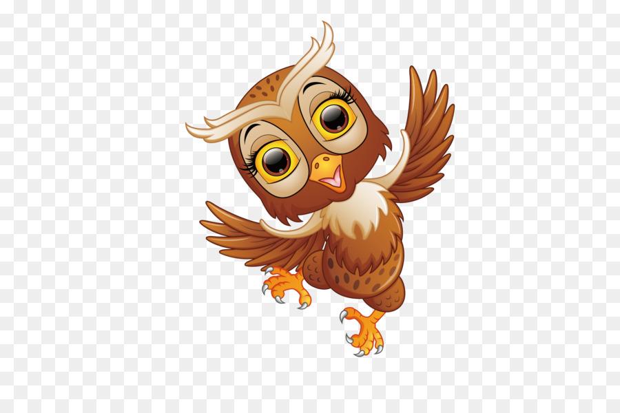 Картинка для детей без фона сова