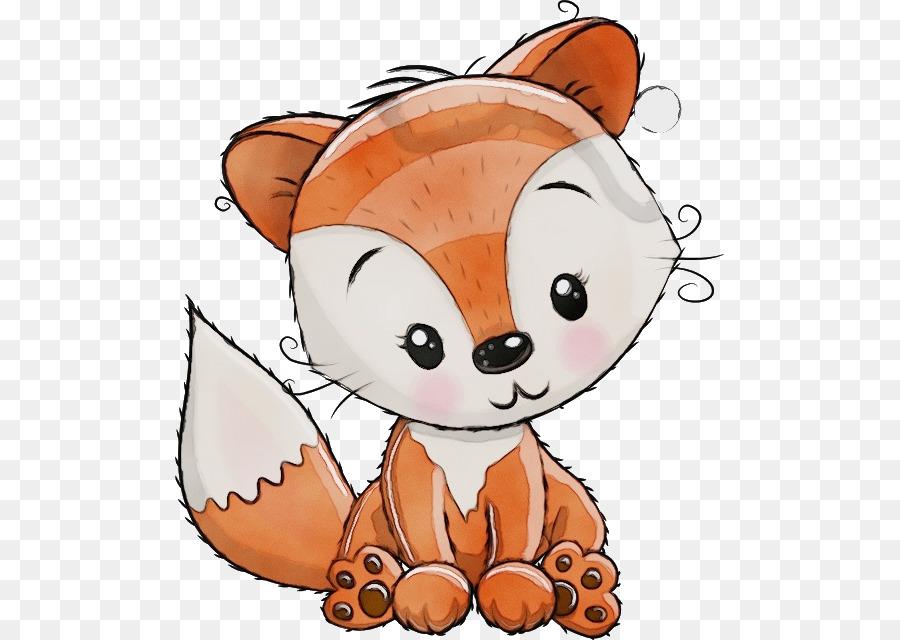 мультяшные картинки лисенка ребенок