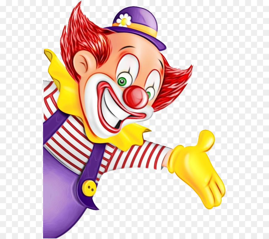 Рисунки веселого клоуна