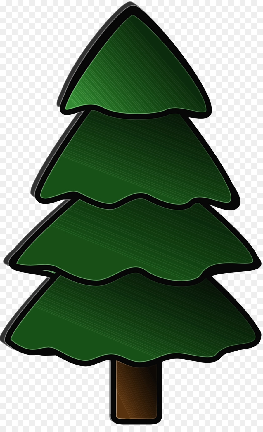 Елка зеленая картинка для детей