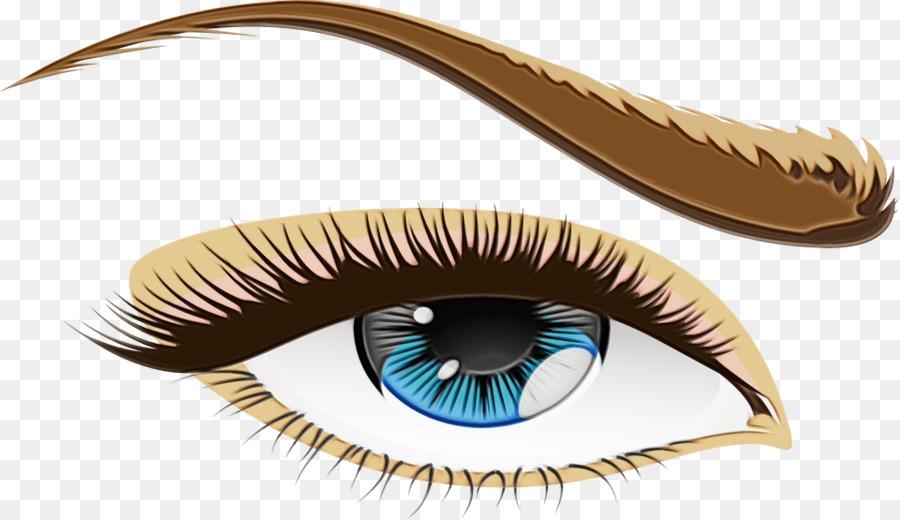 Прозрачная картинка глаз
