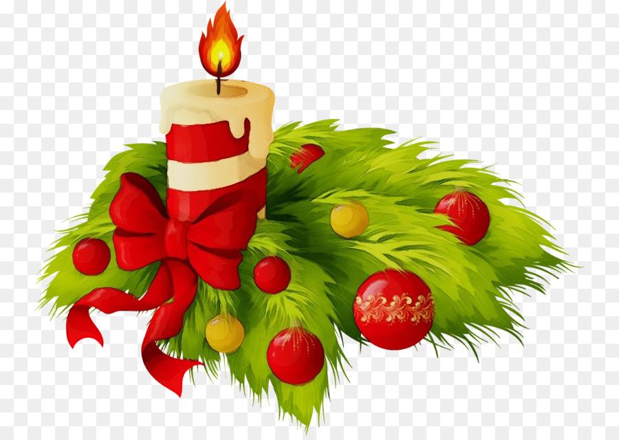 Картинки новогодние свечи на прозрачном фоне