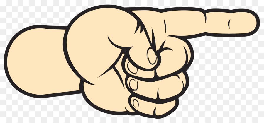 Картинка палец вправо