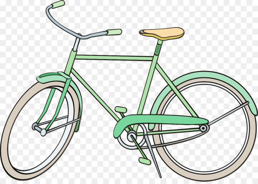 Картинка велосипеда и автобуса