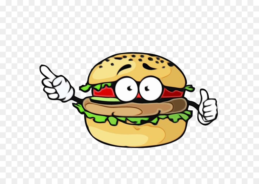 Картинка мультяшного бургера