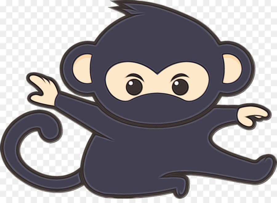 Картинка из мультиков прикольной обезьянки, днем рождения
