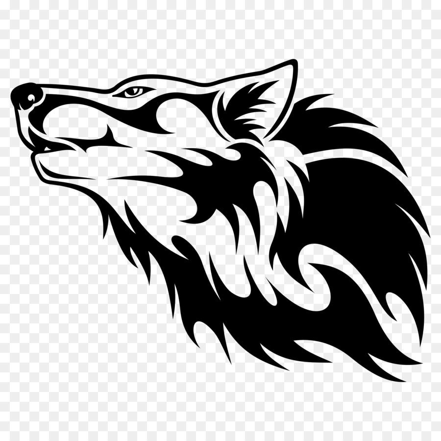 логотип волков картинка двери