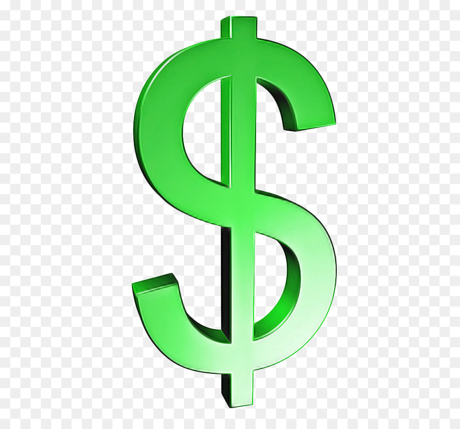 знак доллара картинка без фона ретро