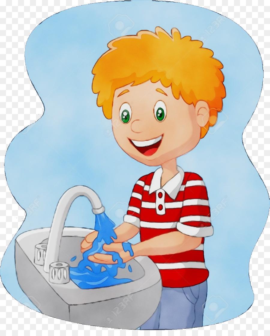 Ребенок моет руки картинка для