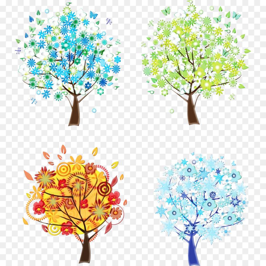 картинки деревьев в разные времена года сильно этот