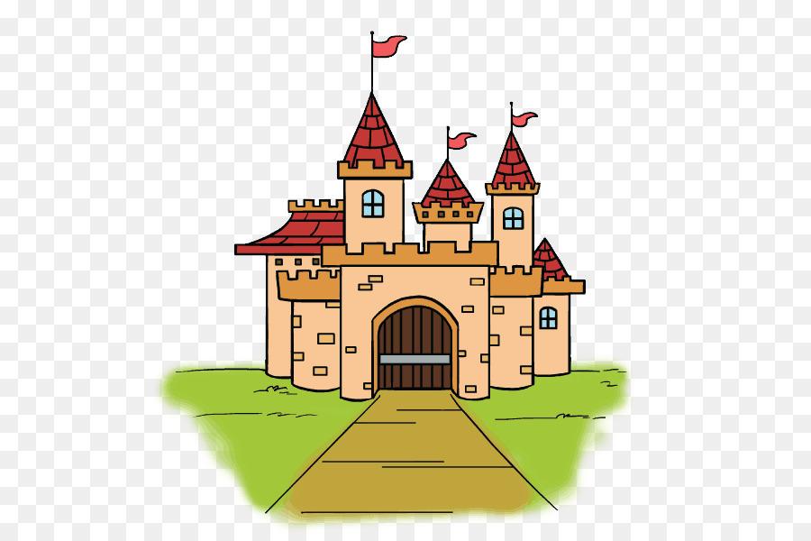Картинка детская замок