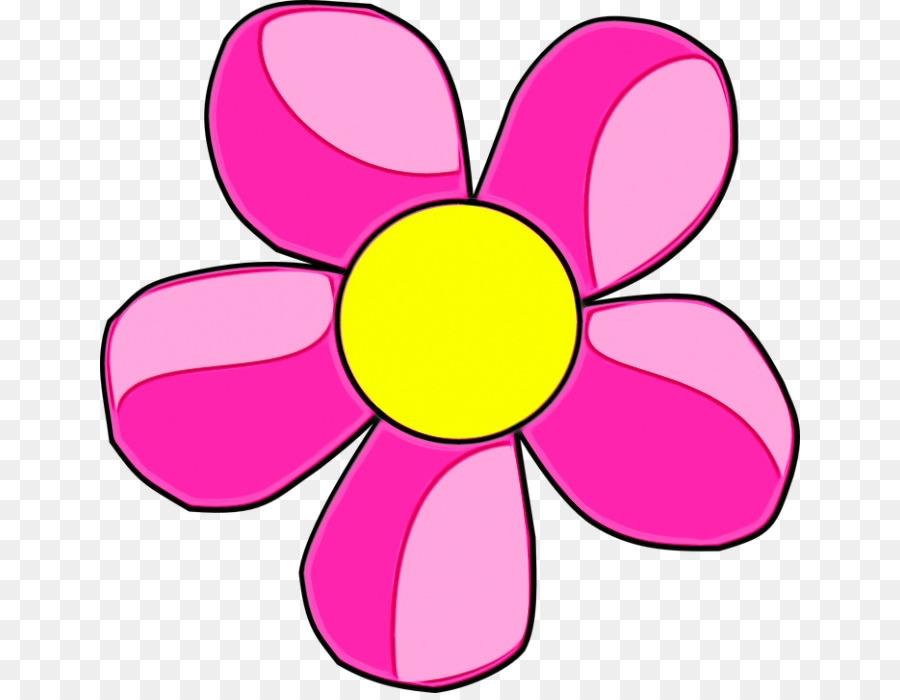 Красный цветок рисунок для детей