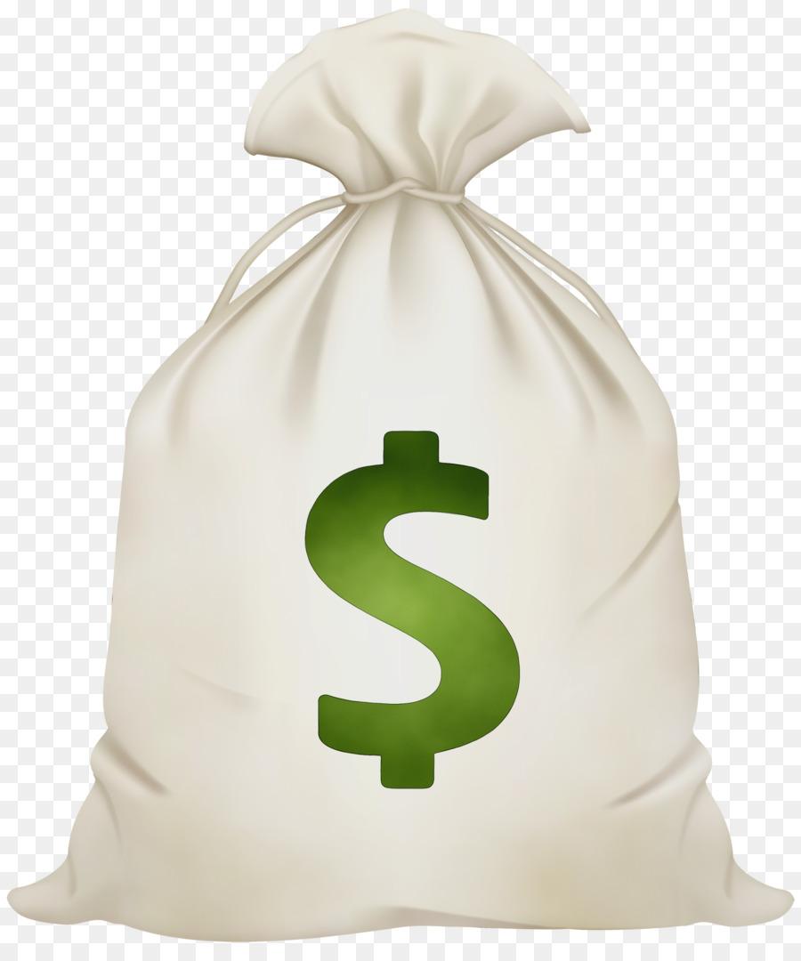 мешок долларов картинка без фона обеих сторон украшает
