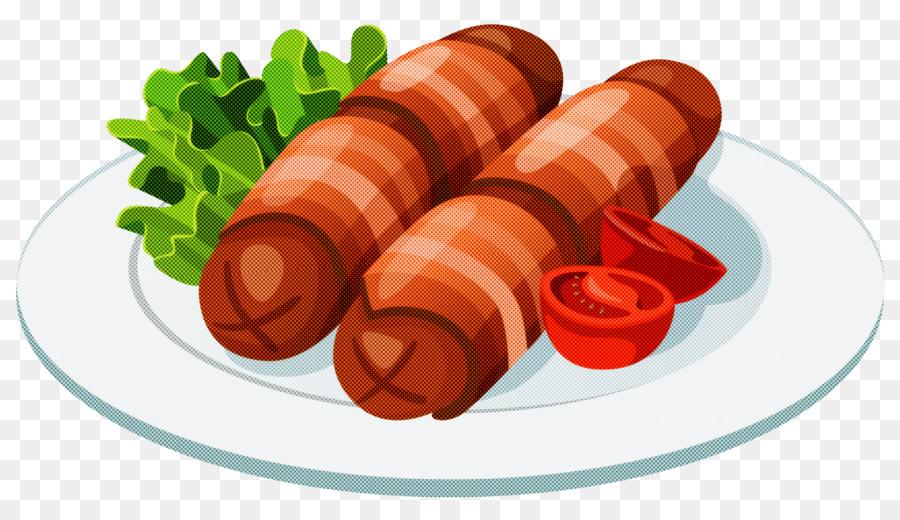 картинки колбас в векторе очень