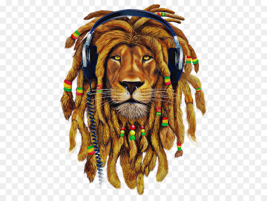 картинки лев растаман готовый
