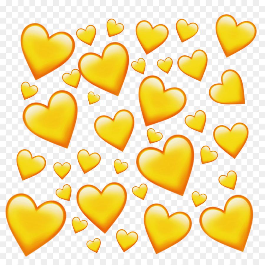 сидя желтое сердце картинка мог