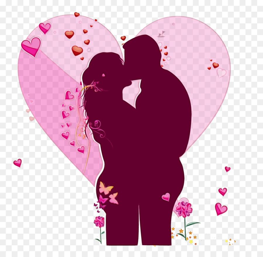 Картинка с поцелуем сердце